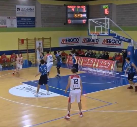Highlights Mercatò Olimpo Basket VS CB Team Casale (Serie C Gold – 10 12 2016)