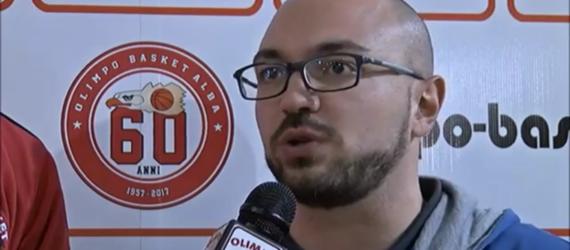 Coach Di Cerbo ai microfoni di Olimpo TV dopo Alba – College (11 giornata Serie C Gold)