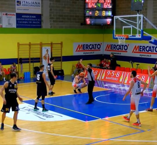 Highlights Mercatò Olimpo Basket VS Auxilium Cus Torino (Serie C Gold – 11 02 2017)