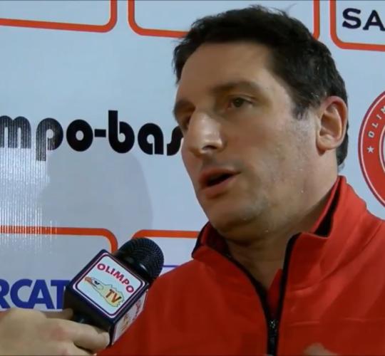 Pietro Cardile, responsabile settore giovanile, ai microfoni di Olimpo TV