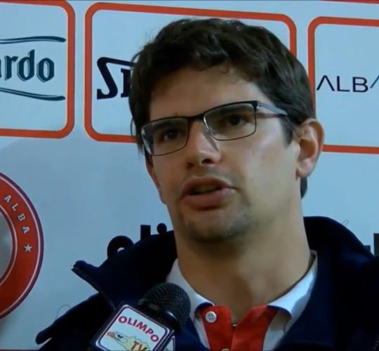 Capitan Miglini ai microfoni di Olimpo TV dopo Alba – Collegno (7ª giornata rit. Serie C Gold)