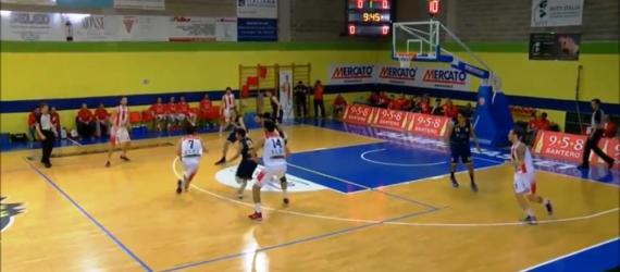 Highlights Mercatò Olimpo Basket Alba VS Pallacanestro Saluzzo (Serie C Gold – 25 03 2017)
