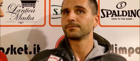Semifinale: Luca Murta ai microfoni di Olimpo TV dopo Alba – 5 Pari Torino (Gara 1)