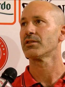 Semifinale: Jacomuzzi ai microfoni di Olimpo TV dopo Alba – 5 Pari Torino (Gara 1)