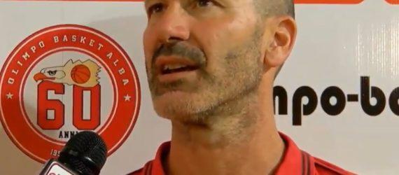 Finale: Coach Jacomuzzi ai microfoni di Olimpo TV dopo Alba – Crocetta Torino (Gara 1)