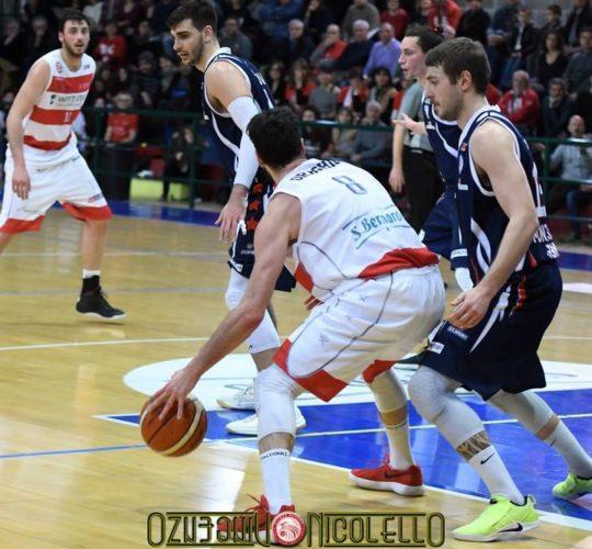 Serie B: Witt S.Bernardo VS Montecatiniterme Basketball
