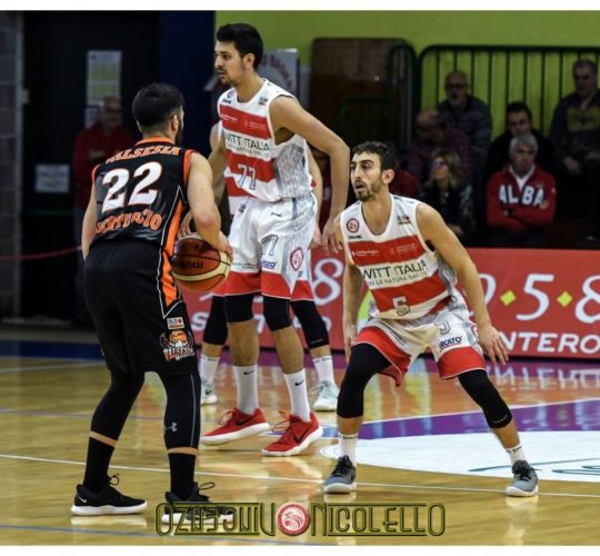 Serie B: Witt S.Bernardo VS Gessi Valsesia Basket