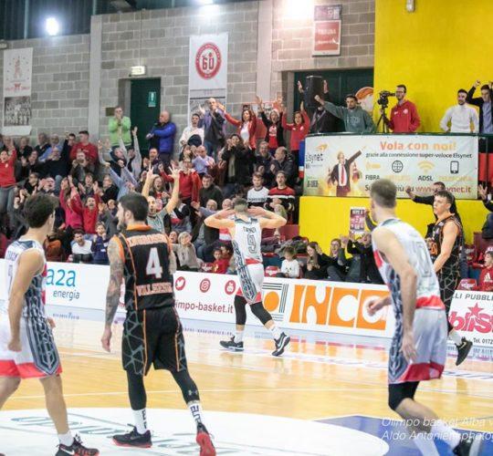 Serie B – 16 giornata: Olimpo Basket VS Gessi Borgosesia