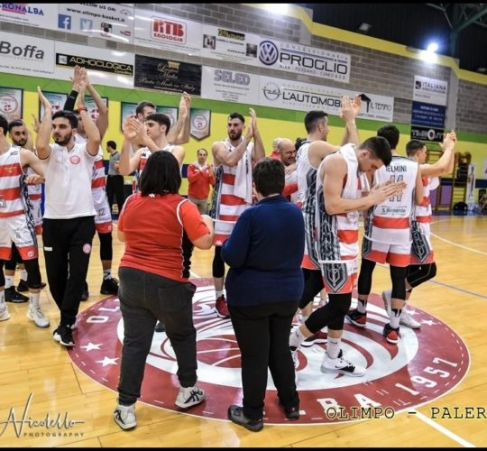 Serie B – 23 giornata: Olimpo Basket VS Green Basket Palermo